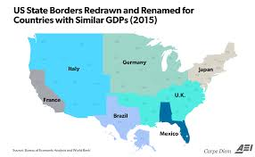 Pyramids In America Map by These 3 Maps Help To Visualize America U0027s 18 Trillion Economy