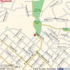 santa barbara california map santabarbaratrailguide com mission santa barbara map