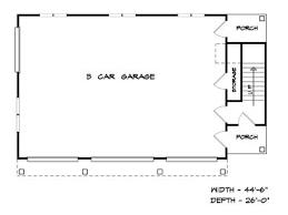 Garage Living Quarters Garage Apartment Plans 3 Car Garage Apartment Plan With