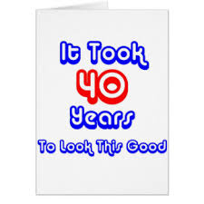 funny 40th birthday greeting cards zazzle co uk