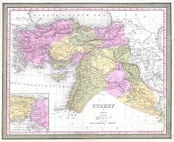 Map Of Iraq And Syria by File 1849 Mitchell Map Of Turkey Iraq Syria Palestine