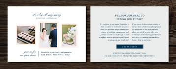 open house marketing template wedding photographer