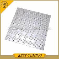 Cleanroom Ceiling Tiles by Clean Room Perforated Metal Ceiling 2x2 Tile Buy 2x2 Tile 2x2