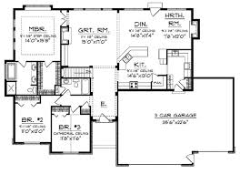 house floor plan 2 ranch house floor plans open plan small fashionable design