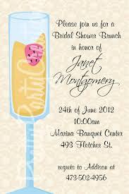 Invitation Card For A Wedding Bridal Brunch Invitations Kawaiitheo Com