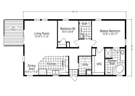 100 2 bedroom 2 bath mobile floor plans champion homes