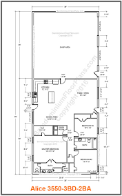 floor plans with inlaw quarters custom barndominium floor plans and stock pole barn homes