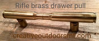 montana made rifle brass drawer pulls bullet drawer pulls