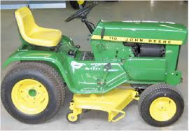 what is the best john deere 110 garden tractor