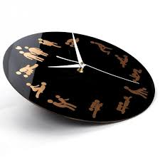 New Years Clock Decorations by Online Shop Home Pattern Wall Clock With Position Clock