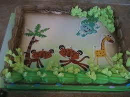 hector u0027s custom cakes baby shower safari themes