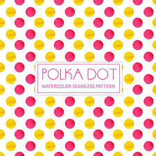 yellow with pink polka dots pink and yellow watercolor polka dot background watercolor color