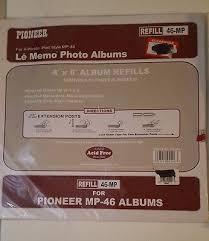 Pioneer Album Refills 6 Pioneer Photo Album Refill Packs 46 Bpr 4