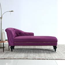 Tufted Chaise Lounge Chaise Marvellous Purple Chaise Lounge Furniture Ideas Handy
