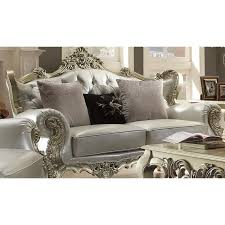 Victorian Sofa Set by Homey Design Upholstery Living Room Set Victorian European
