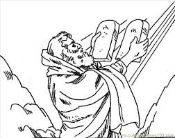 Moses Printable Coloring Pages Hubpages Bible Coloring Pages Moses