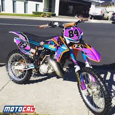 motocross racing numbers custom ktm decal design motocal motor racing decals