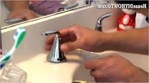 bathroom sink changing a bathroom sink faucet 3 remove replacing