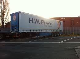 hw pryce and son ltd curtainside trailer flat bed trailer low
