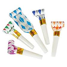 new year s noisemakers bulk bulk toys party pack of 36 musical outs birthday