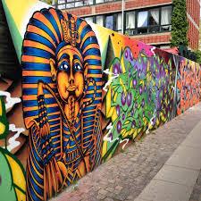 beautiful egyptian street art painting in vesterbro copenhagen beautiful egyptian street art painting in vesterbro copenhagen graffiti urban art public