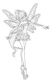 Winx Club Bloom Believix Coloring Pages Beautiful 102 Best Coloring
