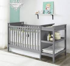 Convertible Cribs With Attached Changing Table Changing Tables Crib With Attached Changing Table And Drawers