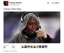 Micheal Jordan Meme - apparently michael jordan thinks the meme of his crying face is funny