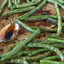 green bean dish for thanksgiving oven roasted balsamic green beans yellow bliss road