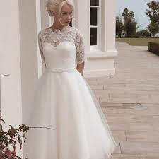 tea length plus size wedding dress biwmagazine com