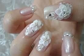 10 inspiring 3d wedding nail art designs ideas trends u0026 stickers