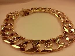 gold link bracelet mens images Men 39 s 10k yellow gold cuban link bracelet pawn superstore pawn jpg