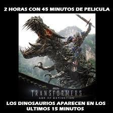 Transformers Meme - desmotivacional los trailers de transformers 4 s by real meme