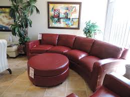 Leather Sectional Sofa With Ottoman red leather sectional sofa with matching chair and ottoman