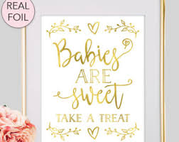 baby shower sign babies are sweet etsy