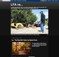 lexus lfa overpriced lfa vs