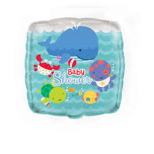 the sea baby shower decorations square foil the sea baby shower balloon baby shower decorations