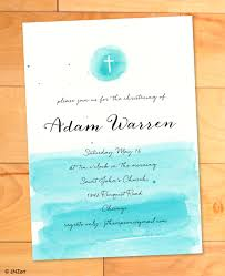 Baptism Card Invitation Baptism Invitation Christening Card Printable Watercolor