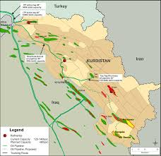 Kurdistan Map Kurdistan Regional Government U2013turkish Energy Relations A Complex