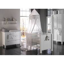White Child Bedroom Furniture Furniture Designer Crib With White Dotted Walls And White