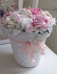 Shabby Chic Flower Pots by Love Ok I U0027ve Seen A Million Of These Done But In Shabby Pink It