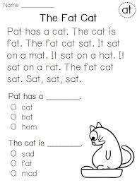 kindergarten reading comprehension worksheets worksheets