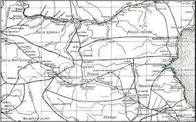 map of vi schematic map of roads in bulgaria in iv vi centuries 10 at