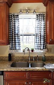 Curtain For Kitchen Designs Frugal Decorating