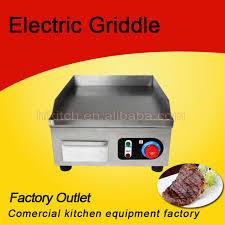 equipement electrique cuisine haute qualité équipement de cuisine électrique en fonte plaque