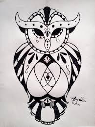 sugar skull owl tattoo design by tiffadactyl on deviantart