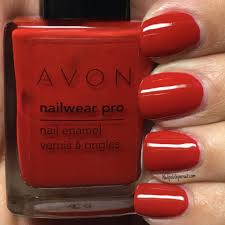 february fiery real red by avon the polished pursuit