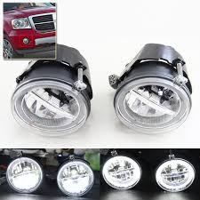 dodge dakota fog light brand new auto car front fog light assembly kits w drl rings for
