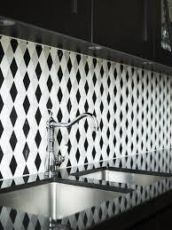 Best Various Kitchen Backsplashes Images On Pinterest - Black and white kitchen backsplash