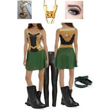 homemade loki costume polyvore